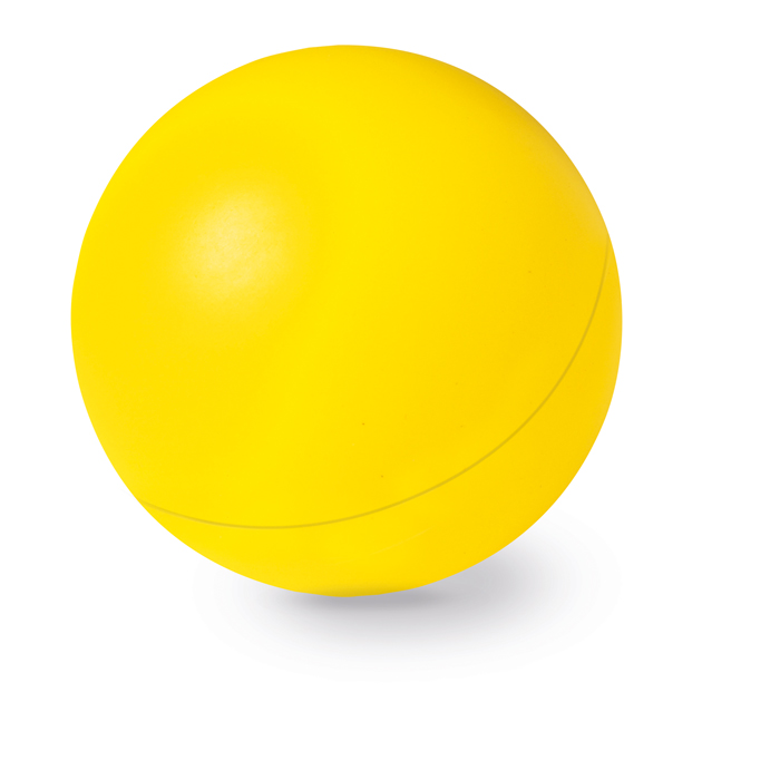 Foam stressbal geel