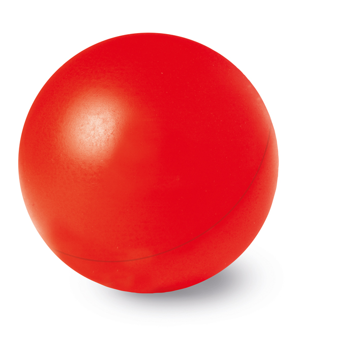 Foam stressbal rood